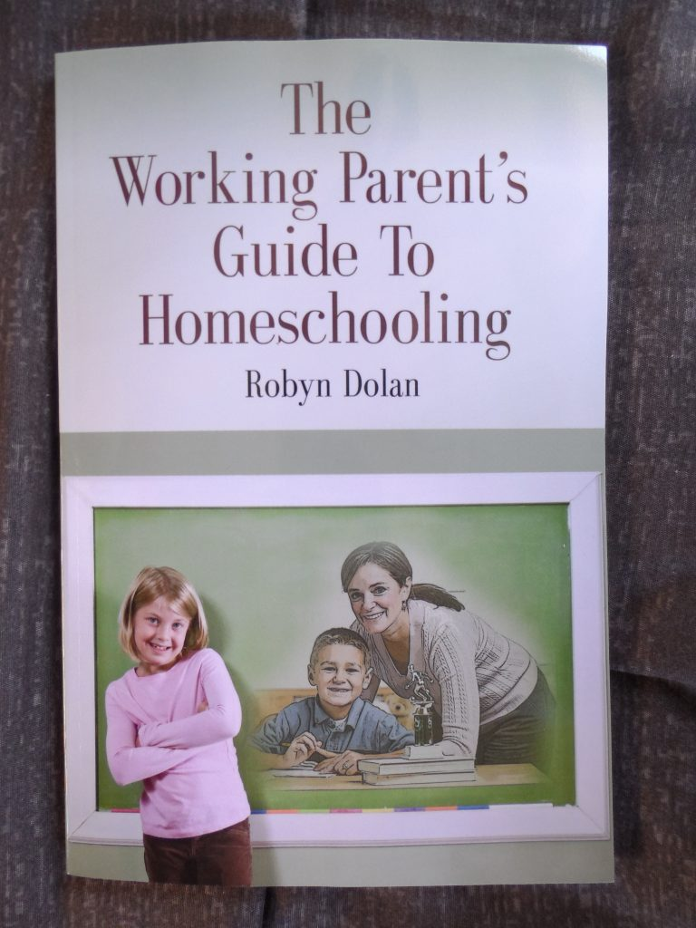the working parent's guide to homeschooling book cover
